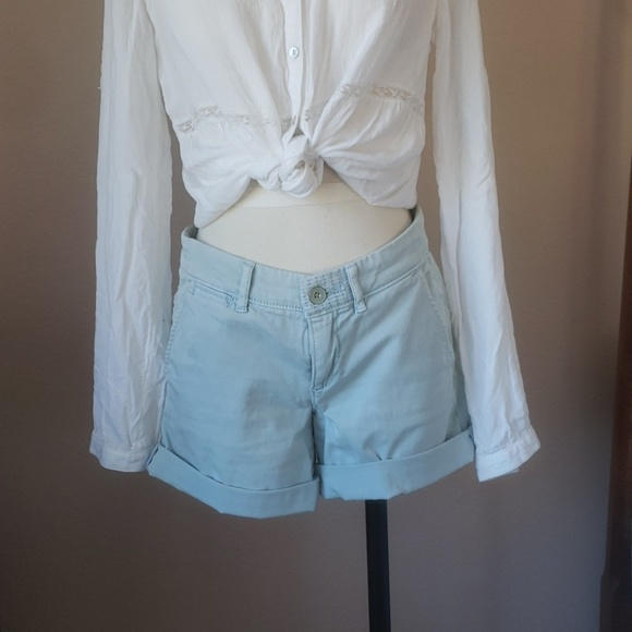 Anthropologie Pants - Anthro pilcro hyphen chino shorts